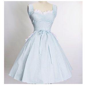 Heart of Haute Dresses - Heart of Haute Sadie Gingham Dress Pinup Vintage